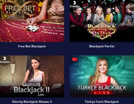 Türkçe Blackjack Sitelerinde Oyna